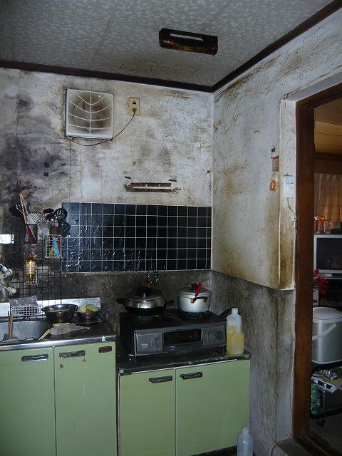 ⑥施工前 キッチン