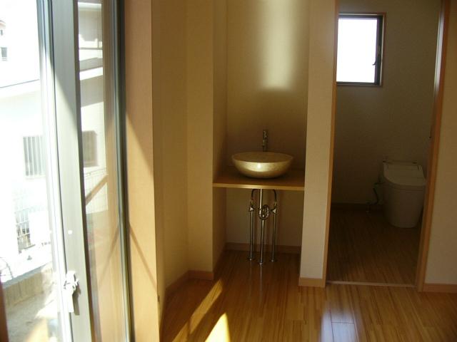 トイレと手洗い場