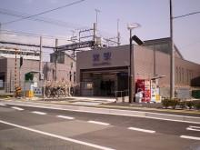 【福岡県】柴駅のサイディングを貼りました。