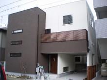 【福岡市】シンプルなデザイナーズ住宅のような仕上がりになりました。