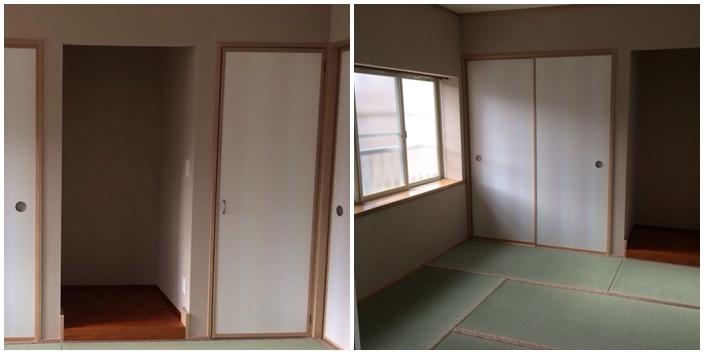 ②和室完成