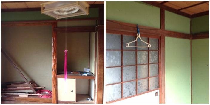 ②和室施工前