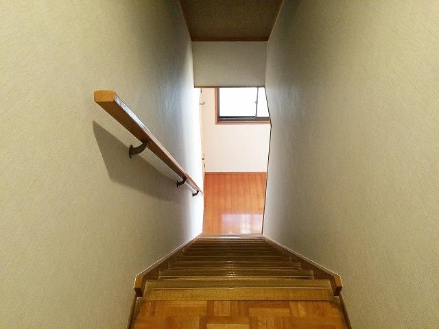 完了 階段廻り