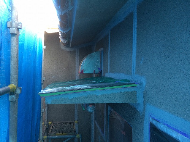 外壁塗装・下塗り