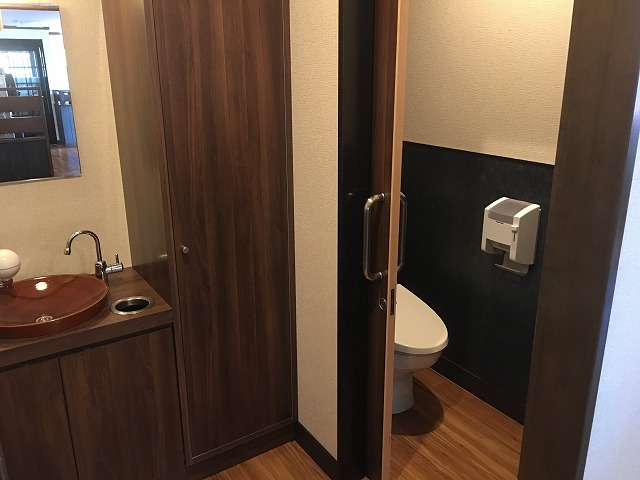 トイレ周り完了 (1)