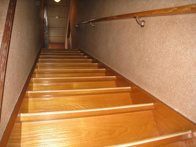 着工前 階段廻り