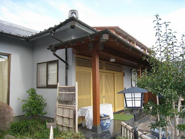 外壁塗装・雨樋完了