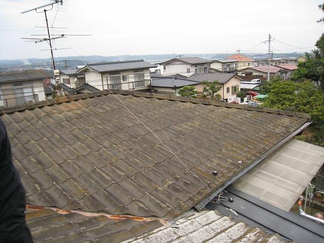 屋根塗装前 (2)