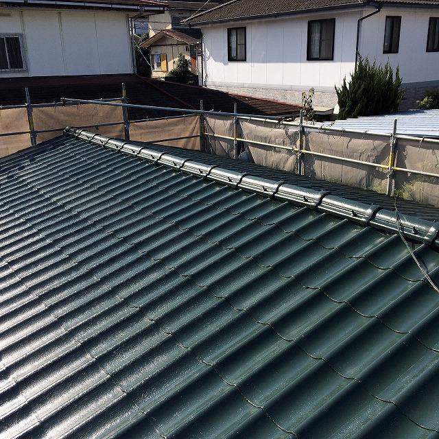 屋根塗装後 (2)