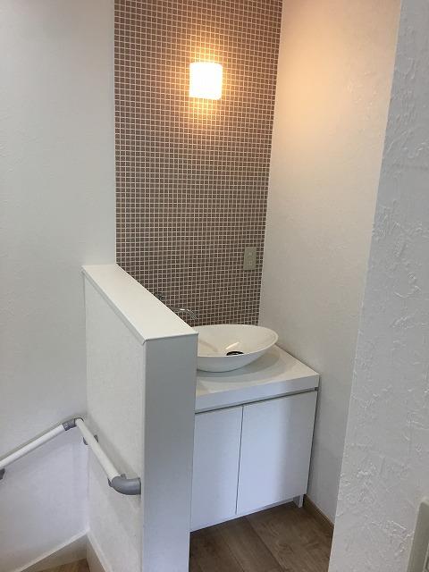 2F手洗い