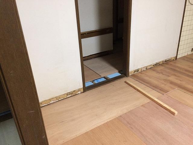キッチン施工中 (2)