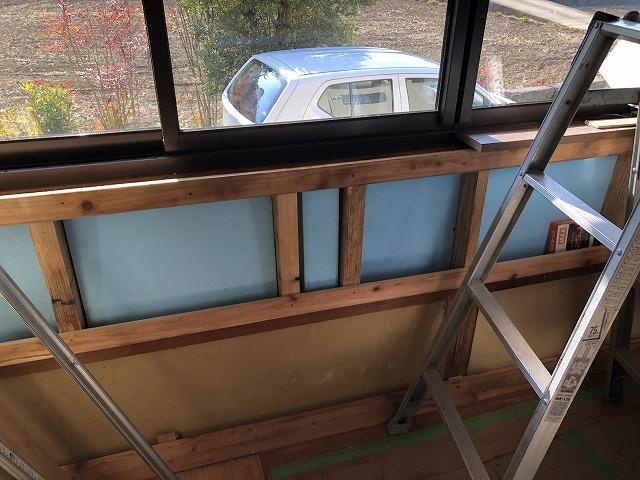 B母屋和室壁、床下地 (1)