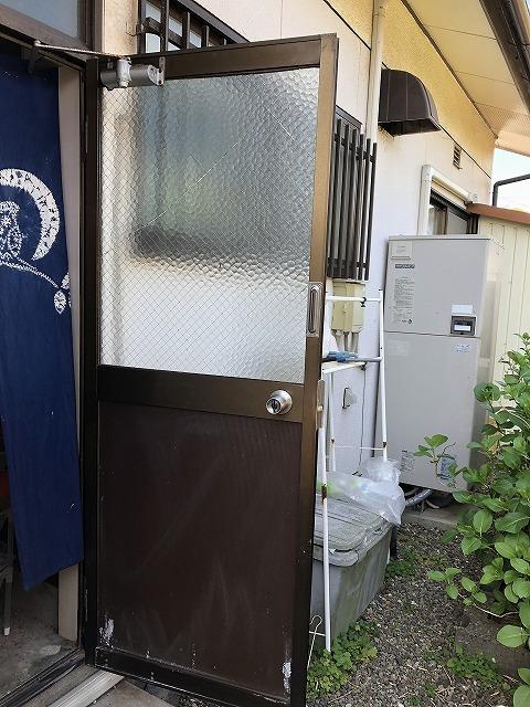 ガラス・パネル交換前 (1)