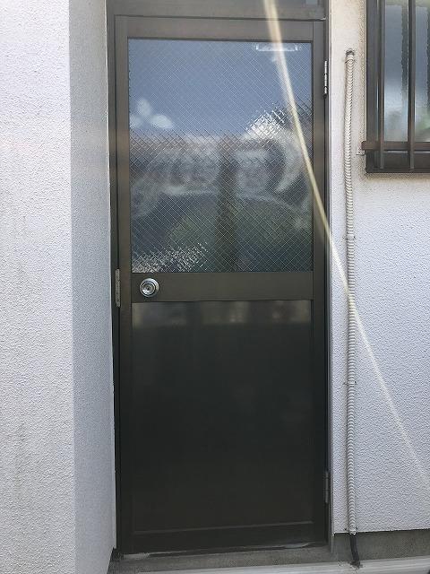 ガラス・パネル交換後 (2)