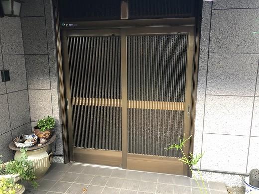 1既存玄関