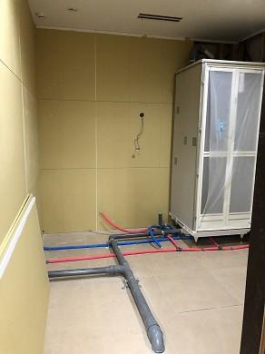 シャワーユニット設置後 (1)