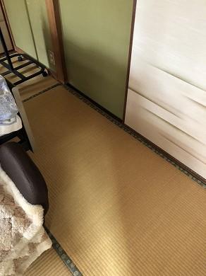 和室 畳表替え前 (1)