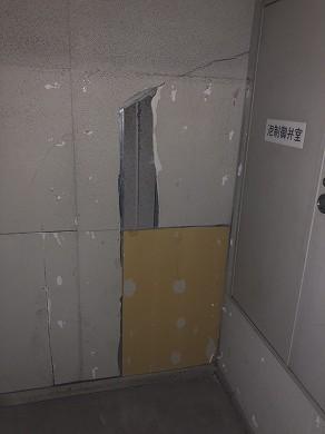 A1階段室着工前