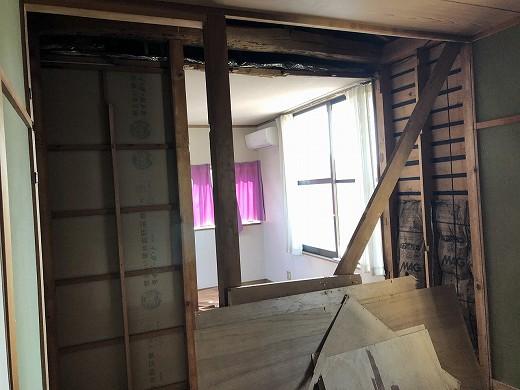 2階 和室解体中 (2)