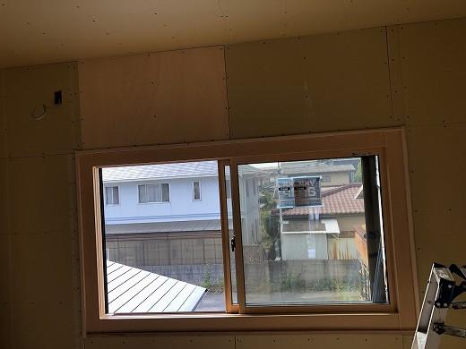 2階 和室~洋間変更中 (5)