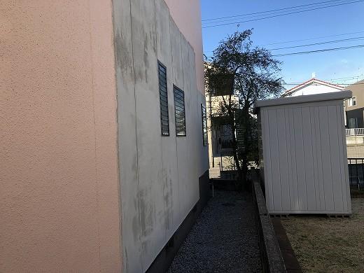 外壁モルタル工事