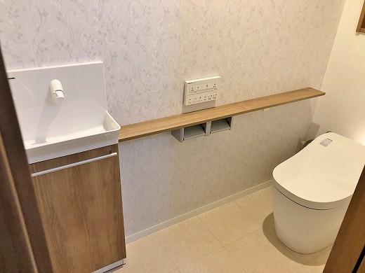 2階トイレ完了後 (2)