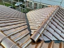 屋根工事完了 (1)