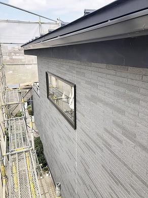 増築部外壁工事中 (4)