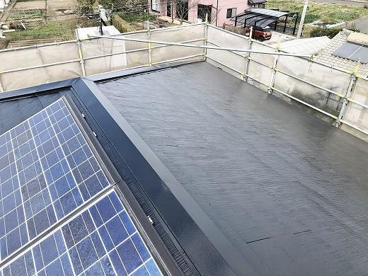 屋根塗装後 (8)