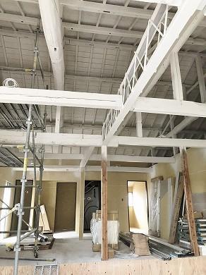 天井塗装工事 (2)
