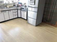 台所床増し張り完了後 (9)