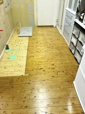 キッチン撤去後 (2)
