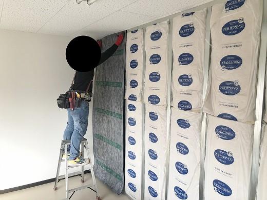 4 2階遮音壁施工状況 (5)
