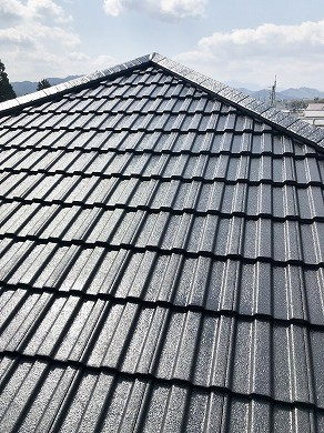 屋根塗装後 (17)
