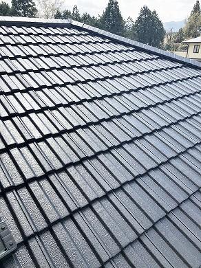 屋根塗装完了 (3)