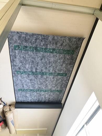 4 2階遮音壁施工状況 (4)
