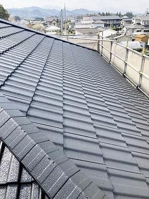 屋根塗装後 (16)